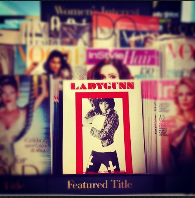 Ladygunn Issue 5. Featured Title in Barnes & Noble!