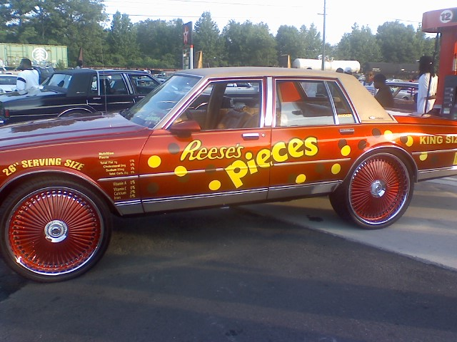 Reese's Pieces Sittin' On Dubs. Circa Ben Hill Weekend 2008 or '07…I think:-?