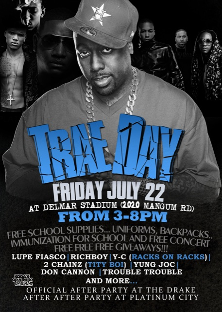Trae Day. Friday, July 22nd #Houston #Excitement