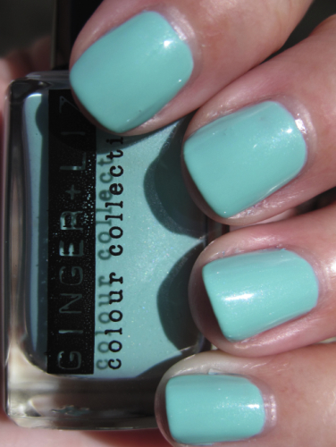 Need this ASAP! REBLOG if you agree:)    thestarklife :     Checking out the Ginger & Liz nail polish,  Boy Toy .    Read More Here.