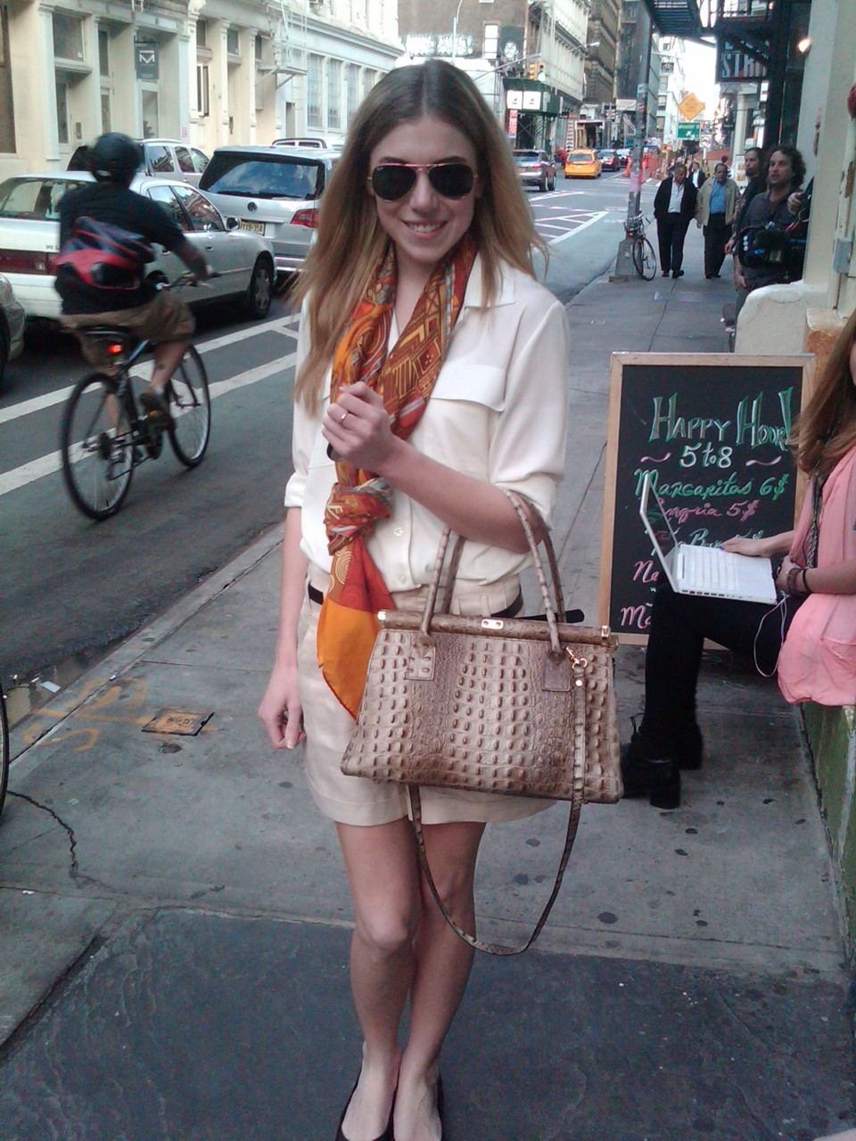 Style of the Week: Hermes…scarf (via Caitlin)