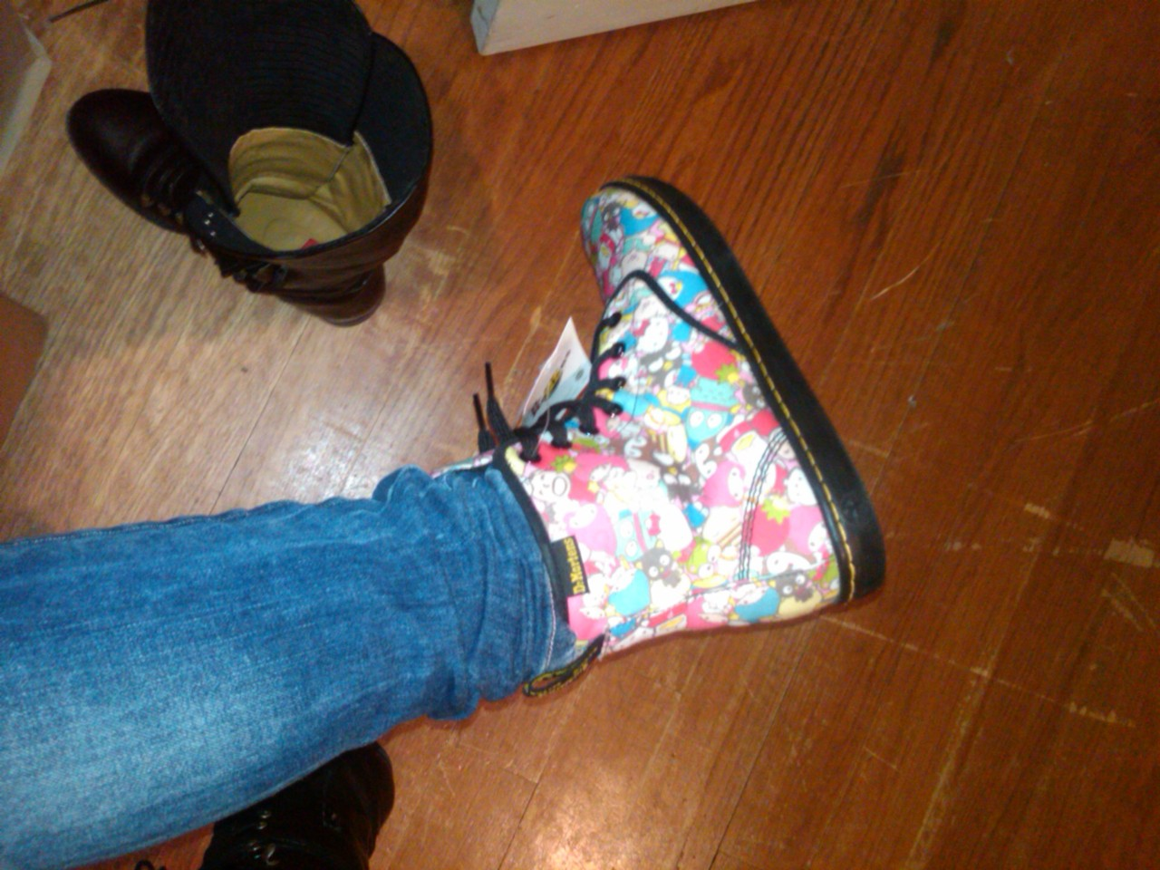 Showroom Savage: I finally got my hands on the Hello Kitty x Dr. Martens!