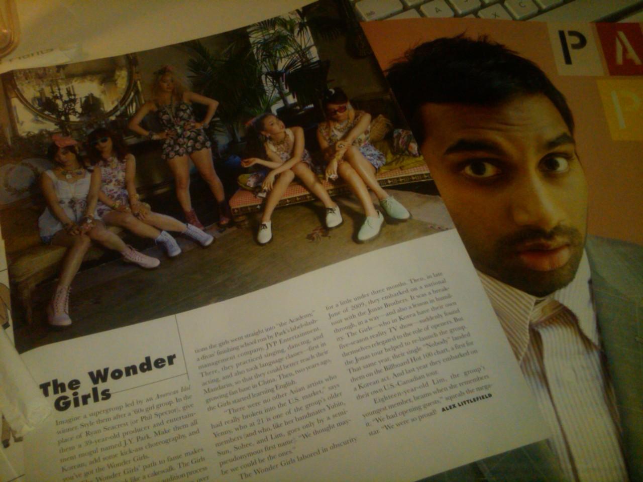 Dr. Martens in Paper Magazine x Aziz Ansari! Yay! #ShowroomSavage