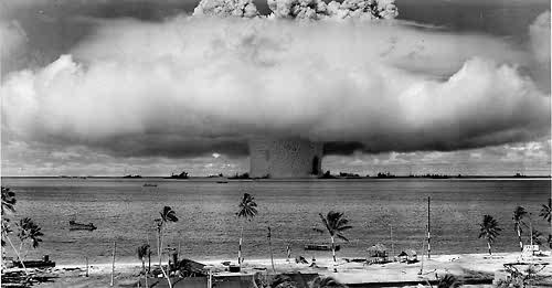 Today 65 years ago the U.S. atomic bombed Hiroshima, Japan.