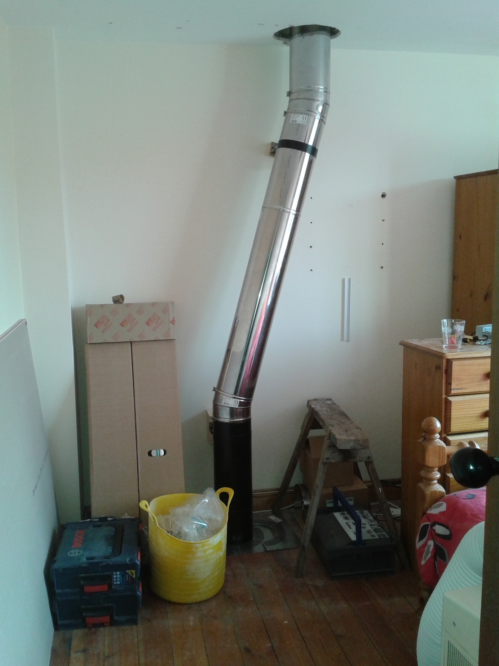 Charnwood Country 8 Twin Wall Installation P Cottrell