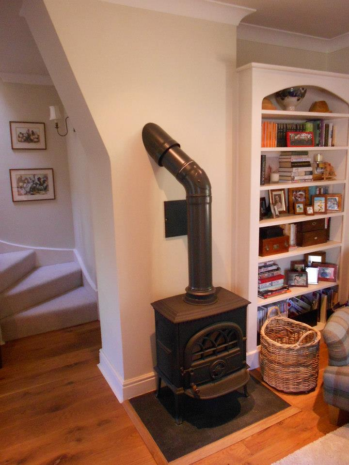 Re-flue and new soot door on Jotul 3 & Gallery \u2014 P Cottrell Building and Stoves