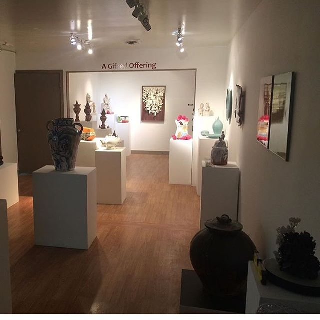 Beyond thrilled to have my work amoungst so many talented ceramisicts @eutectic_gallery