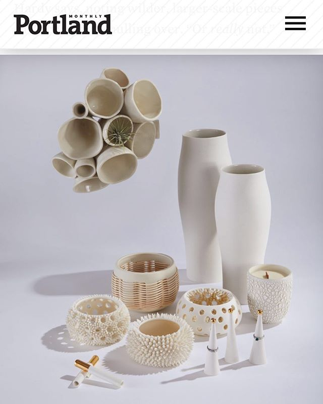 Clay love from @pomomagazine