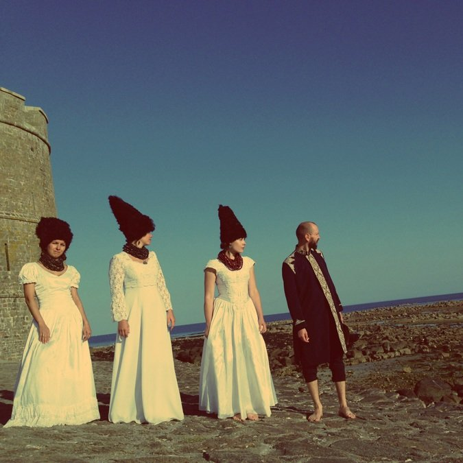 From DakhaBrakha's  myspace site