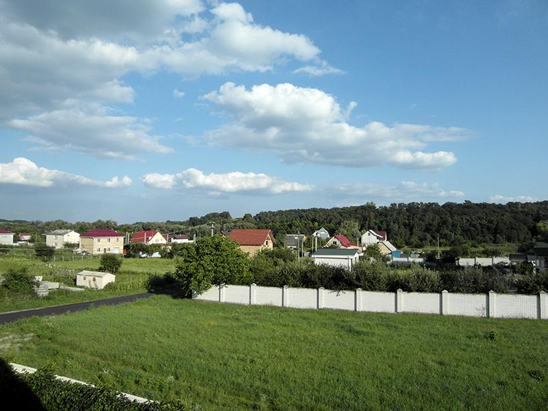 The beautiful village of Muzychi