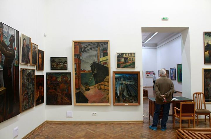 Installation View, courtesy of the  NAMU Website