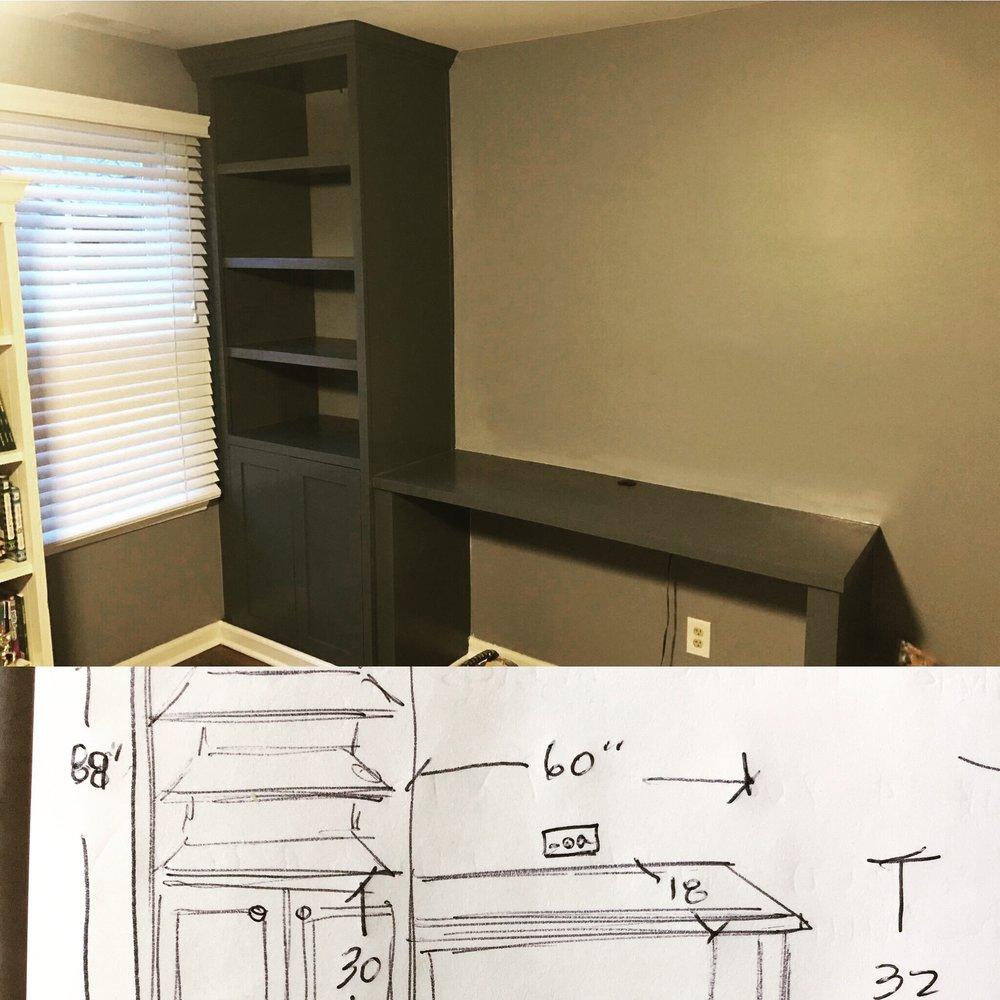 sketch to custom built in