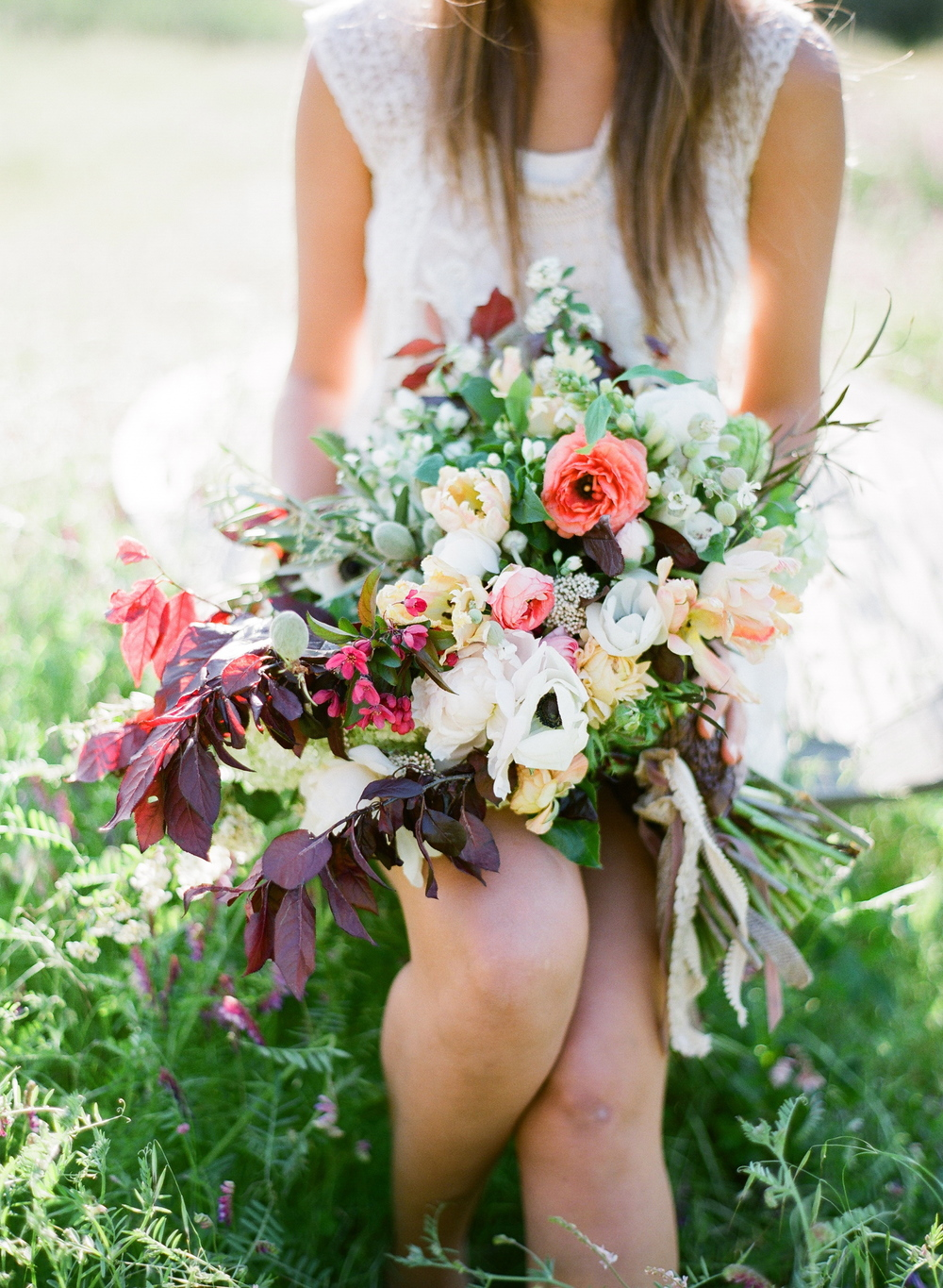 wild bouquet  / floral design by passion roots / jose villa photography / flower wild workshop