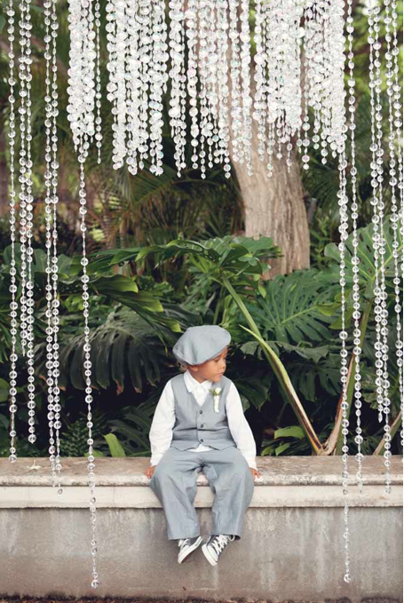 adorable ring bearer / event decor by passion roots / m   alia cano photography