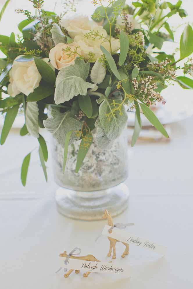 romantic vintage centerpiece / floral design by passion roots / christina heaston photography
