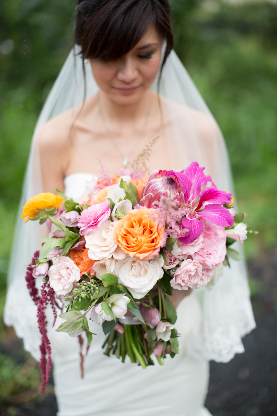 lush rich colored flower bouquet by Passion Roots | Photo-Archetype | Oahu, Hawaii