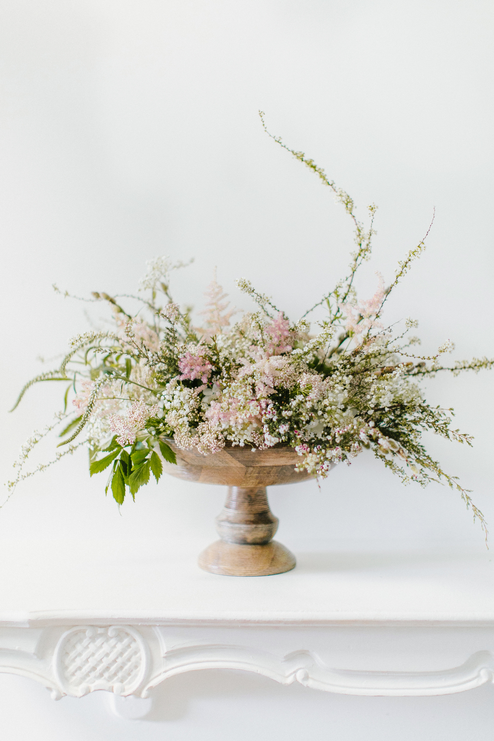 pink free spirited arrangement by Passion Roots