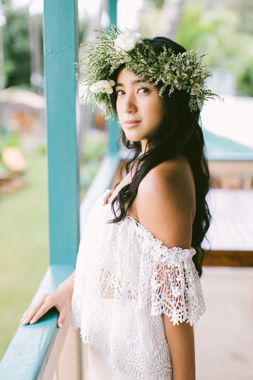 Passion roots oahu hawaii florist floral head pieces wide boho crown by passion roots rebecca arthurs oahu hawaii izmirmasajfo