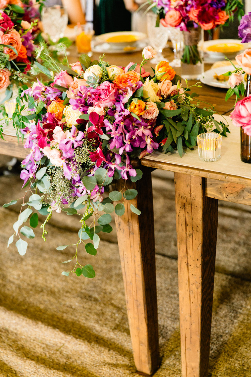 draping head table by Passion Roots | Lehua Noelle Photography