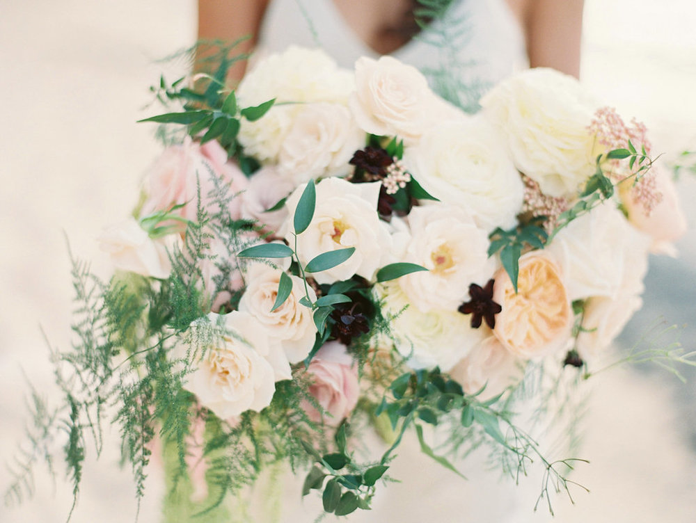 bouquet florals by Passion Roots | Kylie Martin Photography | Oahu, Hawaii