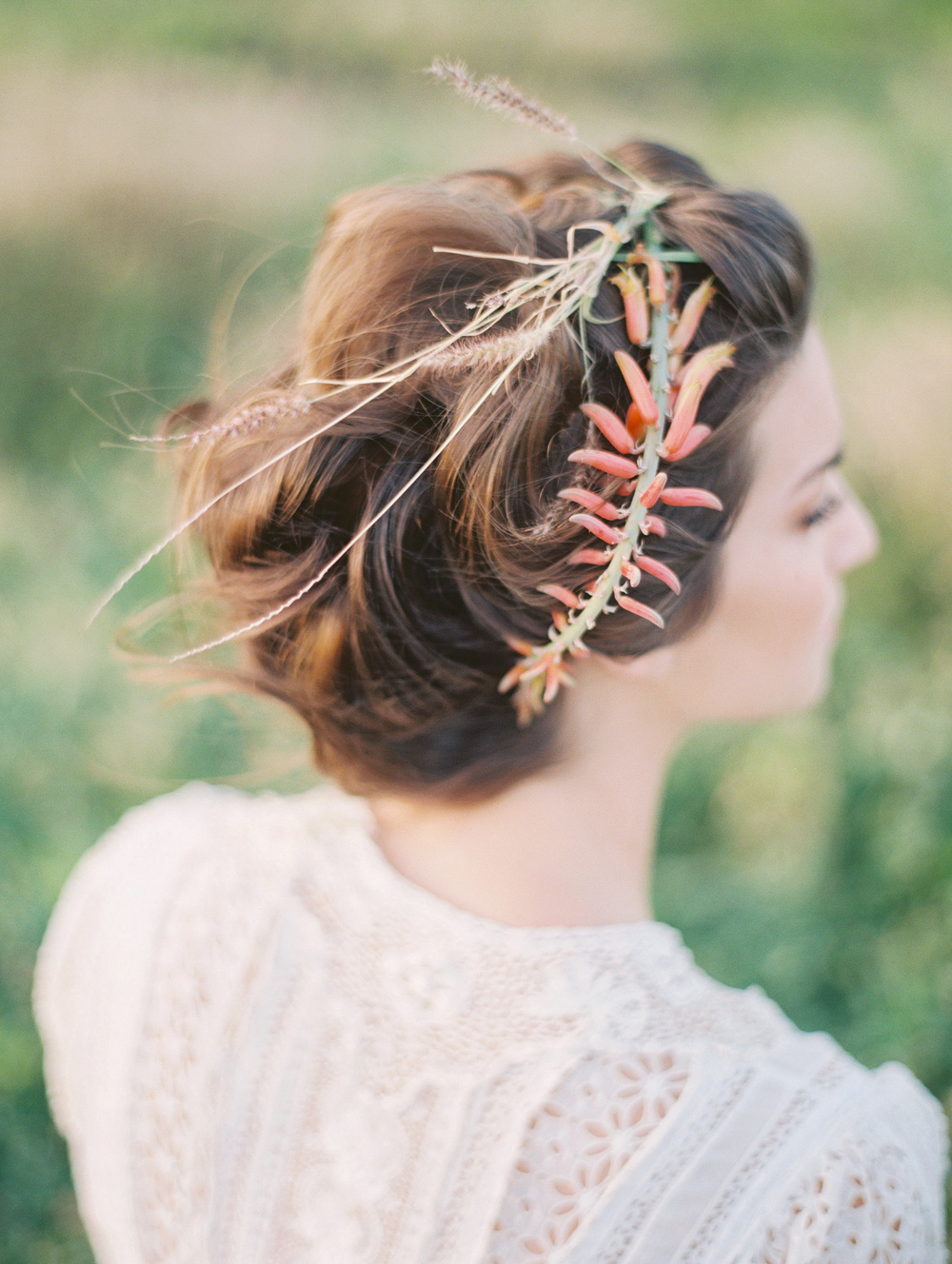 hair flowers | florals by Passion Roots | Christine Clark Photography