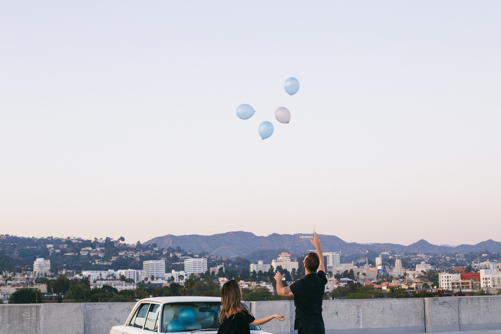 West Hollywood Engagement Shoot