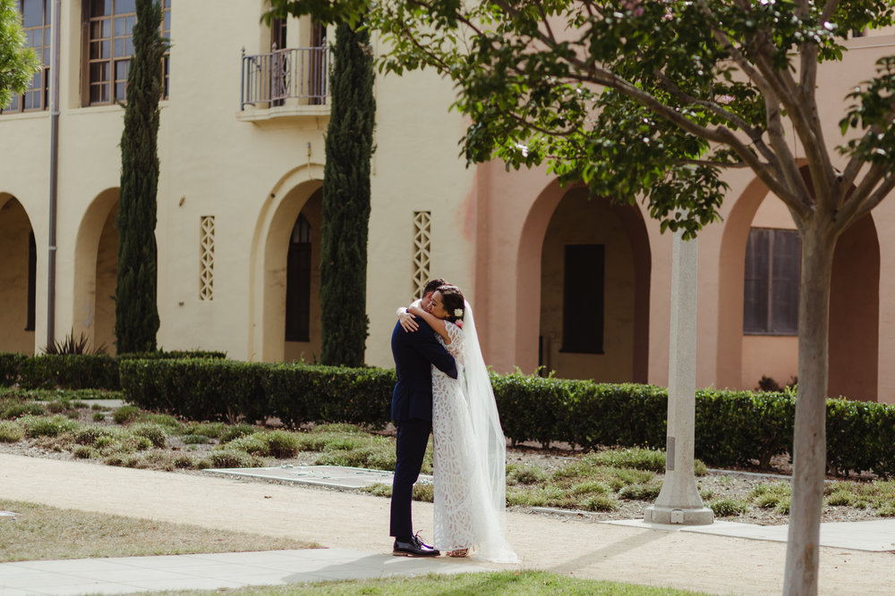 San Diego wedding, Liberty Station