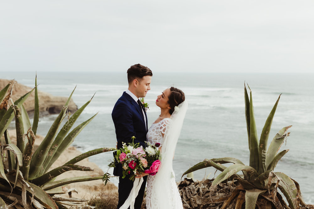 San Diego wedding, Point Loma
