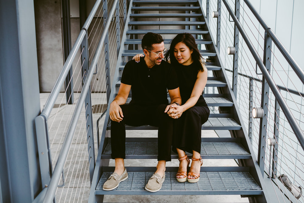 Whitney Museum Engagement shoot
