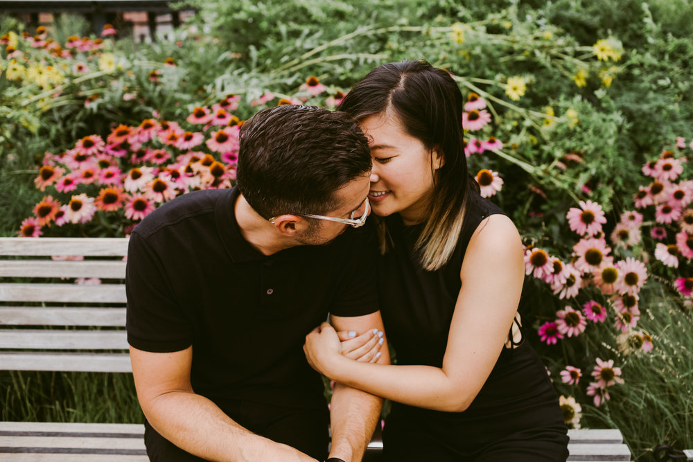 High Line New York Engagement Shoot