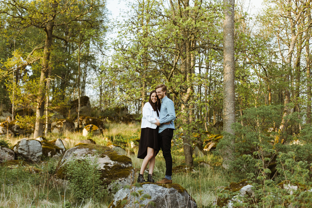 Sweden Forrest Engagement Shoot