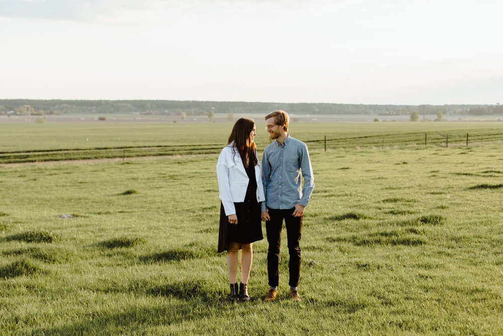 Sweden Farmland Engagement Shoot