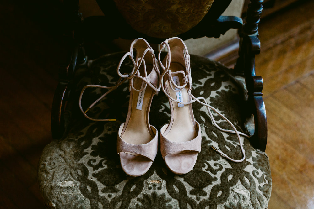 Beautiful Shoes San Diego Wedding