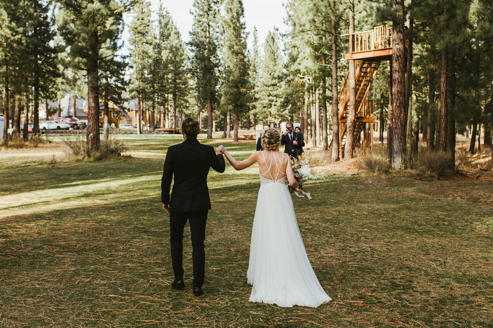 Lake Tahoe Winter Wedding