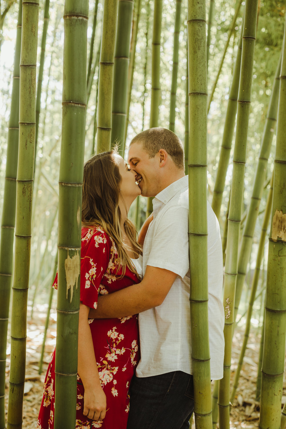 San Diego Botanical Garden Engagement Shoot