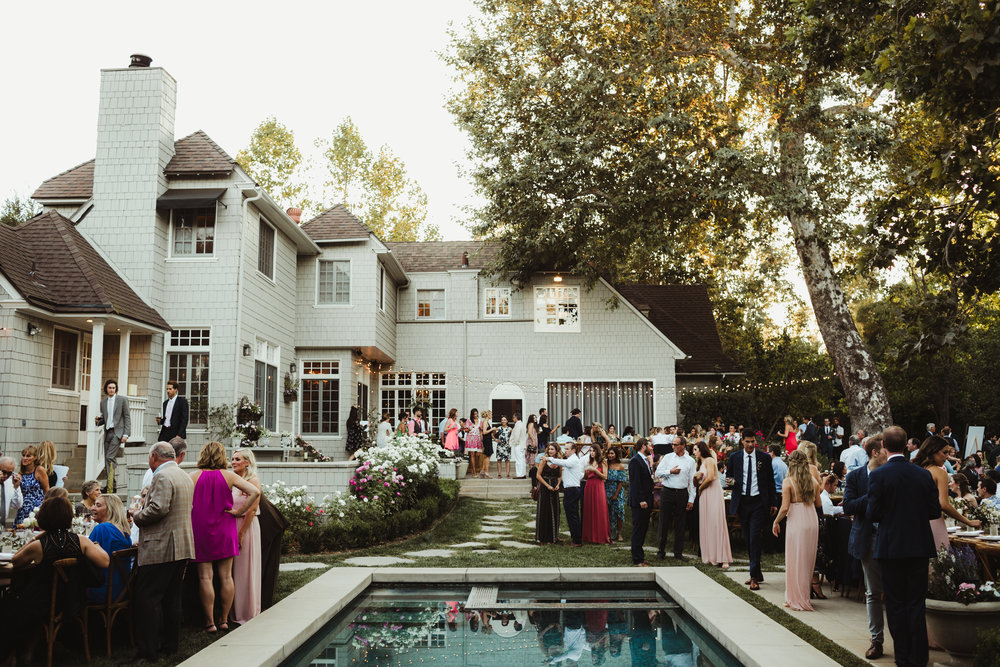 Pasadena Backyard Wedding by Hannah Costello
