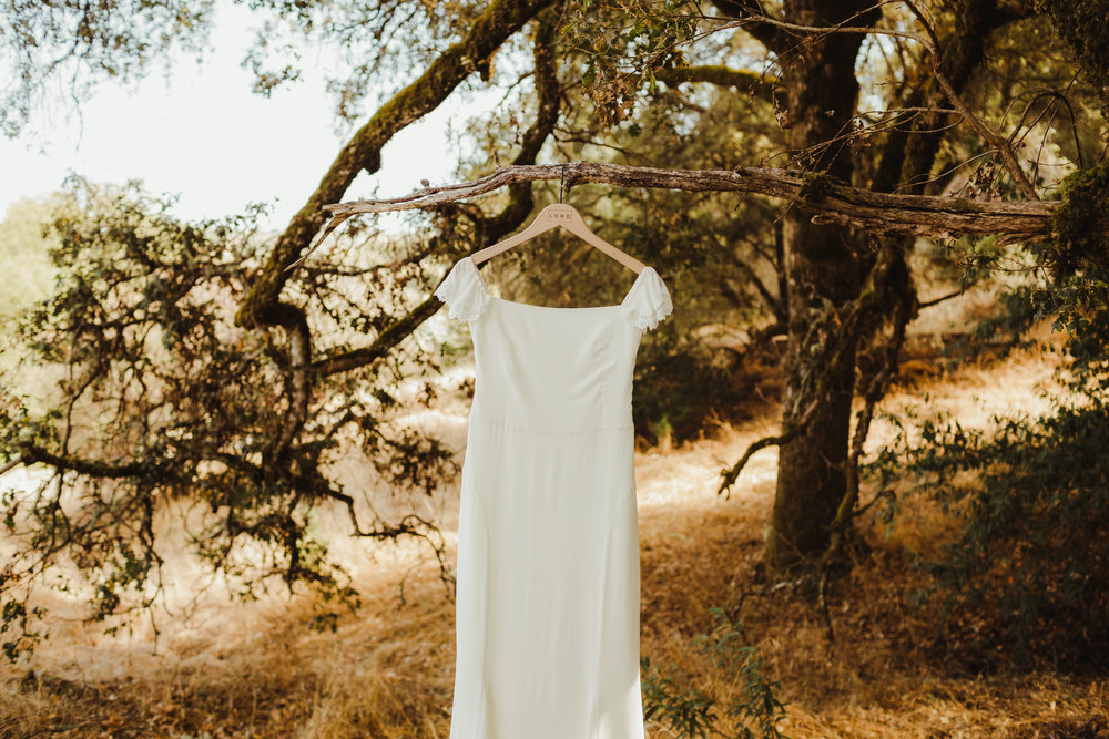 Handcrafted and Colorful Wedding at The Highland Estate in Cloverdale, California Photographed by Hannah Costello