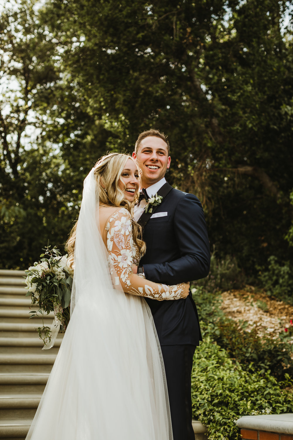 Quail Ranch Wedding in Simi Valley, California Photographed by Hannah Costello