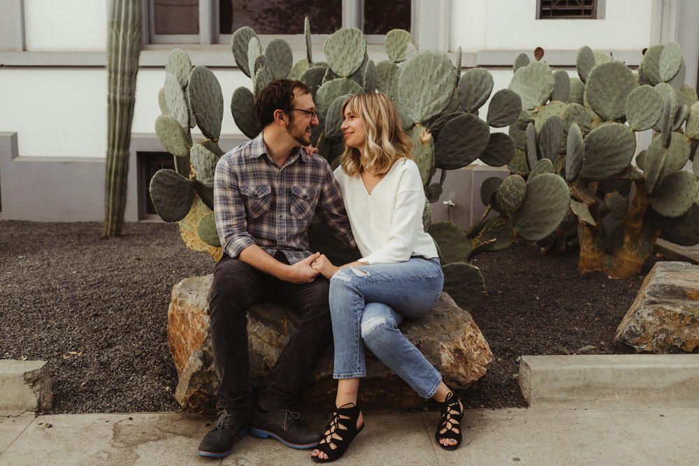 DTLA Arts District Engagement Shoot Photographed by Hannah Costello