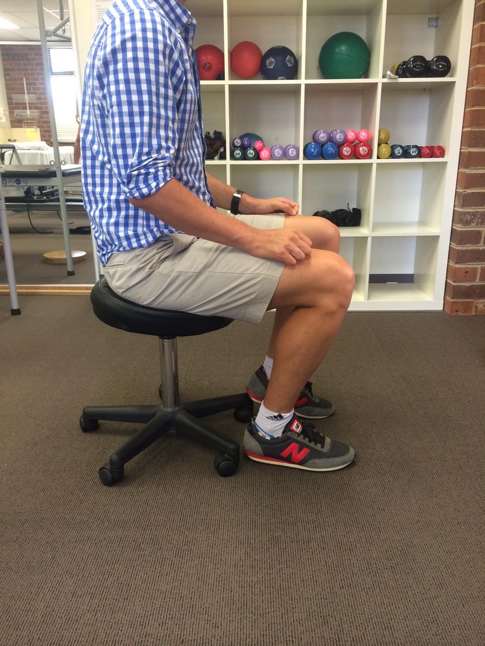 gluteal tendinopathy sitting posture