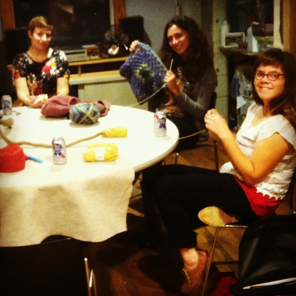 Radical Craft Night, every Wednesday evening from 7-9 at Perch Studios: 204 West Main St., Carrboro