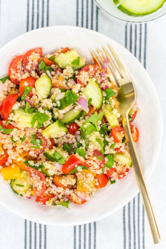Quinoa Flax Tabouleh
