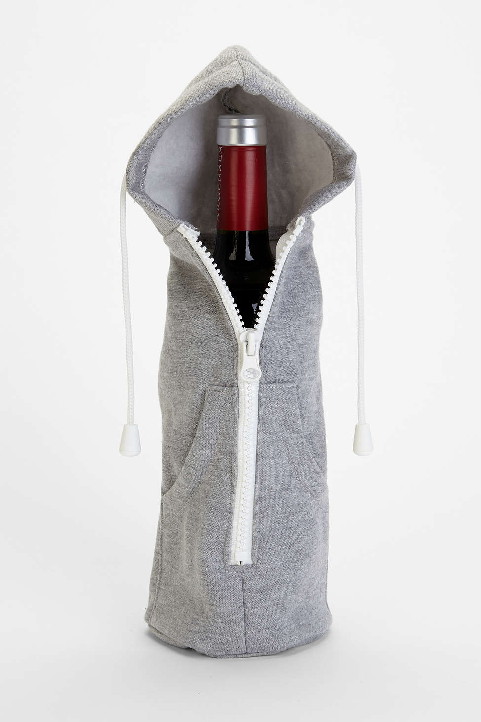 Urban Outfitters Zip it Up Wine Bottle Hoodie - $20