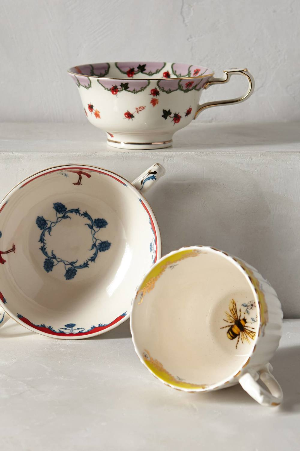 Anthropologie Rota Lou Nature Table Teacups - $14