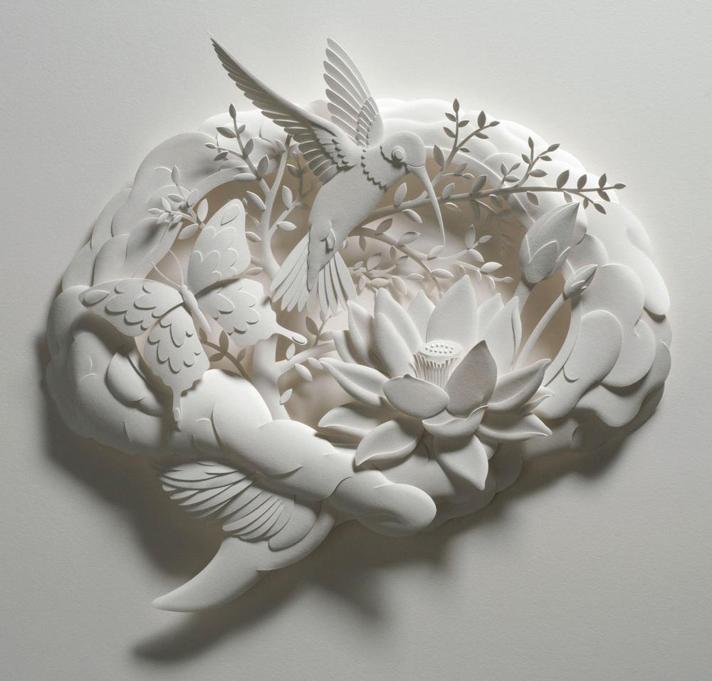 Psychology Today magazine art