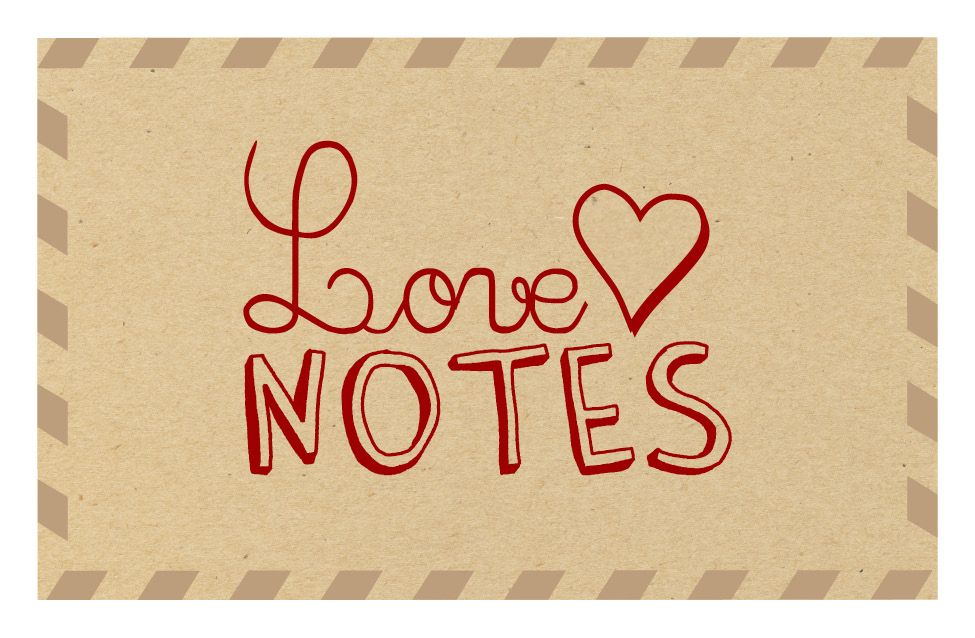Send & receive handwritten notes through the mail! #lovenotesjb Next round :: July 2016