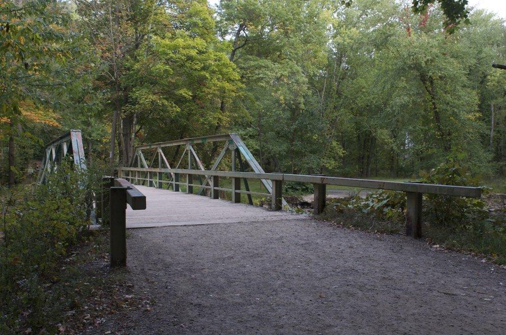 crossign the bridge