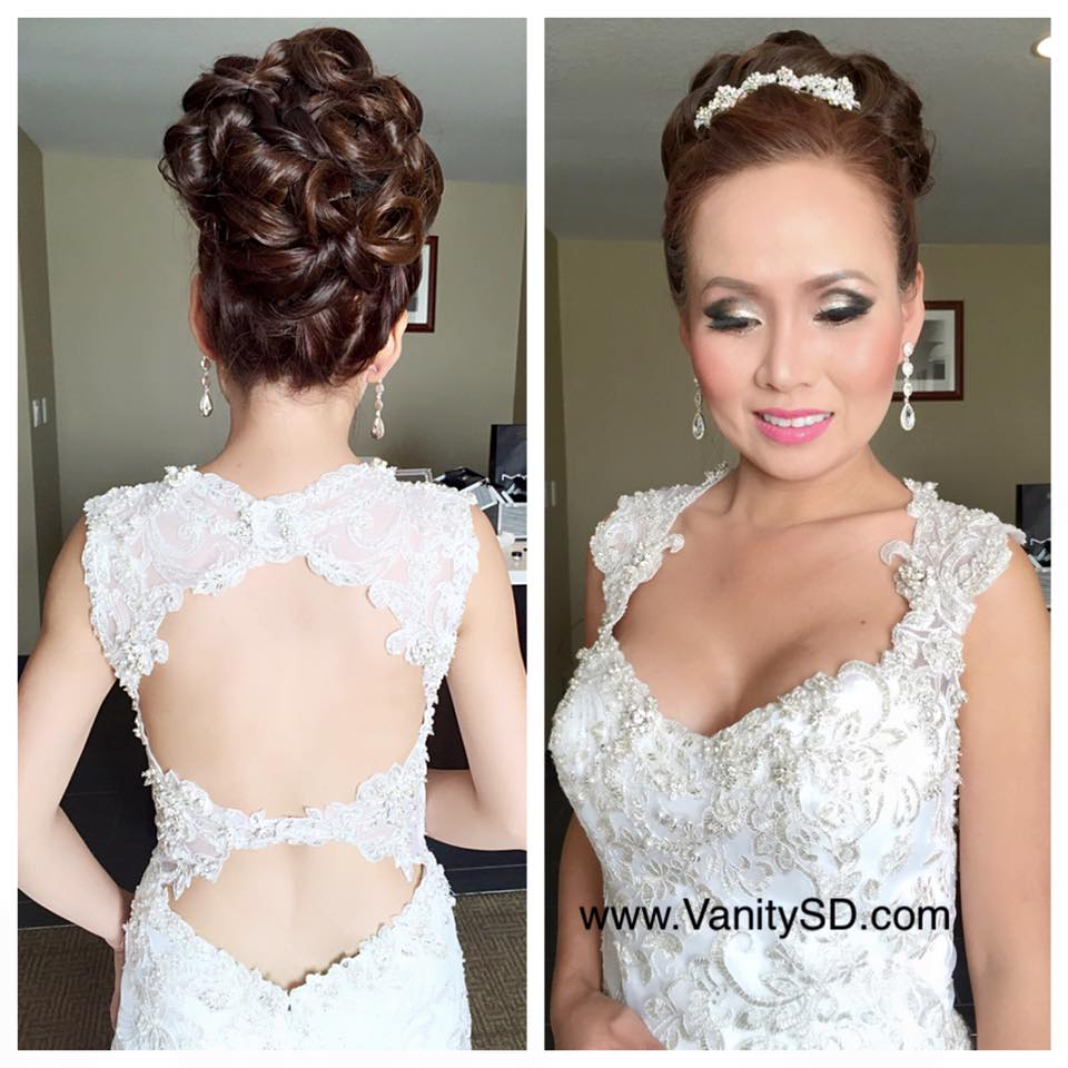 San Diego Bridal Makeup & Hair By Van Tran