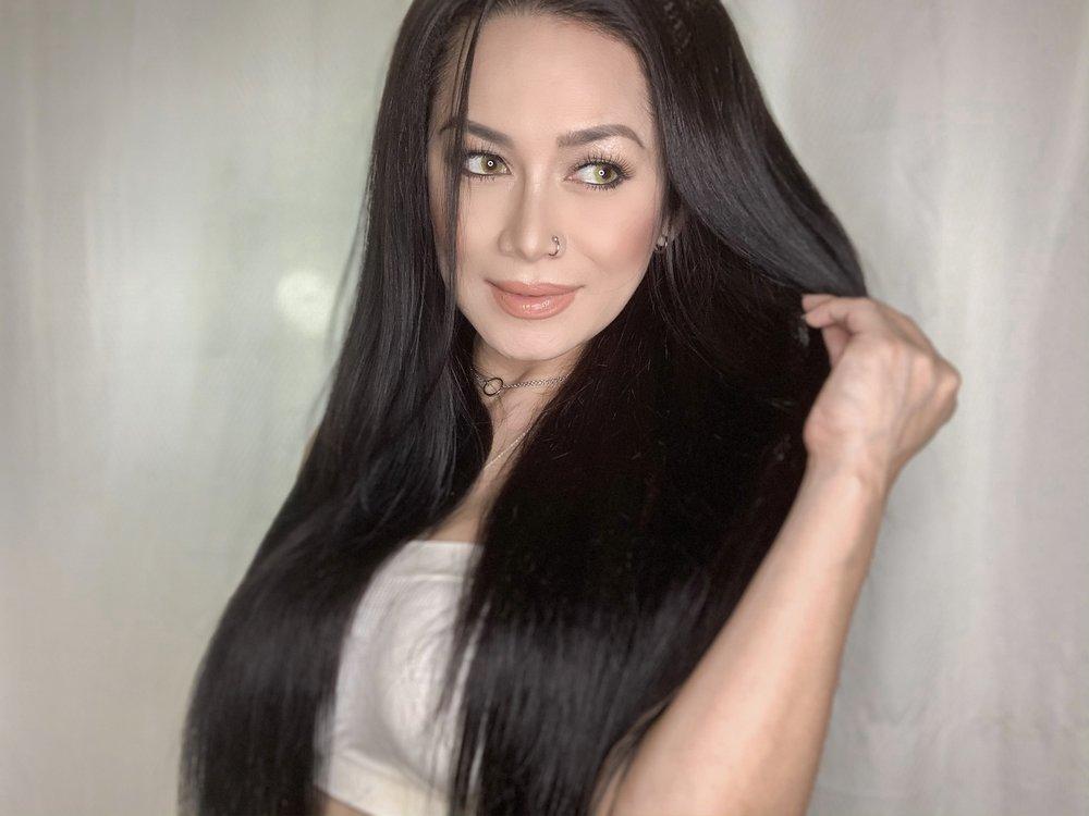 After wearing Brazilian Goddess Hair Extensions.