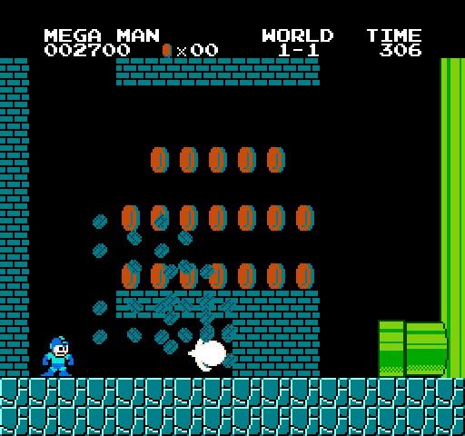 Mega Man Saves New Worlds in Super Mario Bros  Crossover